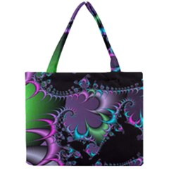 Fractal Dream Tiny Tote Bags