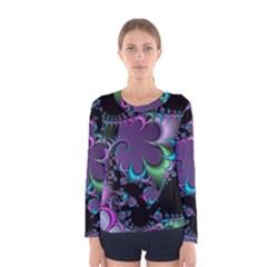 Fractal Dream Women s Long Sleeve T-shirts