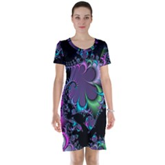 Fractal Dream Short Sleeve Nightdresses