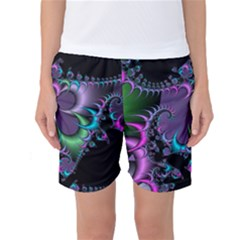 Fractal Dream Women s Basketball Shorts