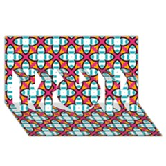 Pattern 1284 MOM 3D Greeting Card (8x4)