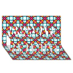 Pattern 1284 Congrats Graduate 3D Greeting Card (8x4)