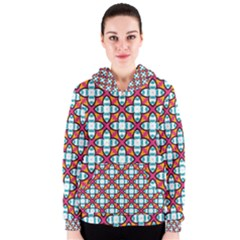 Pattern 1284 Women s Zipper Hoodies