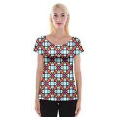 Pattern 1284 Women s Cap Sleeve Top