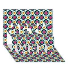 Pattern 1282 Get Well 3D Greeting Card (7x5)