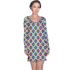 Pattern 1282 Long Sleeve Nightdresses