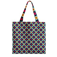 Pattern 1282 Zipper Grocery Tote Bags