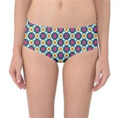 Pattern 1282 Mid-Waist Bikini Bottoms