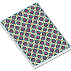 Cute Abstract Pattern Background Large Memo Pads