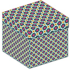 Cute abstract Pattern background Storage Stool 12