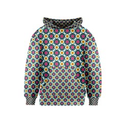 Cute Abstract Pattern Background Kid s Pullover Hoodies