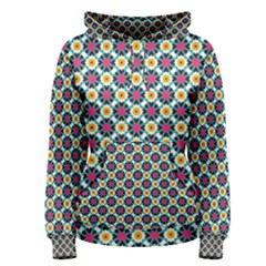 Cute Abstract Pattern Background Women s Pullover Hoodies