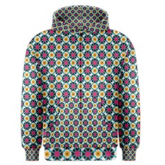 Cute abstract Pattern background Men s Zipper Hoodies