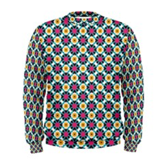 Cute abstract Pattern background Men s Sweatshirts