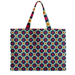Cute abstract Pattern background Zipper Tiny Tote Bags