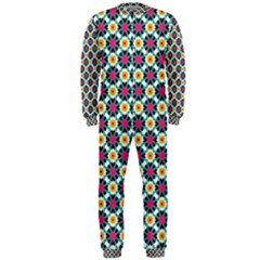 Cute Abstract Pattern Background Onepiece Jumpsuit (men)