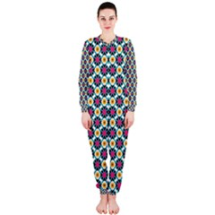 Cute Abstract Pattern Background Onepiece Jumpsuit (ladies)