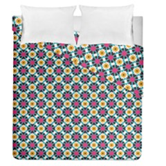 Cute Abstract Pattern Background Duvet Cover (full/queen Size)