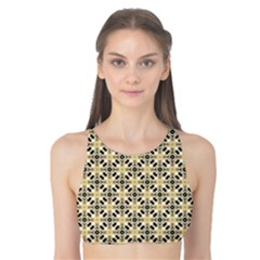 Cute Pretty Elegant Pattern Tank Bikini Top