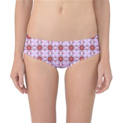 Cute Pretty Elegant Pattern Classic Bikini Bottoms