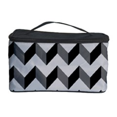 Modern Retro Chevron Patchwork Pattern  Cosmetic Storage Cases