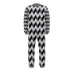 Modern Retro Chevron Patchwork Pattern  OnePiece Jumpsuit (Kids)
