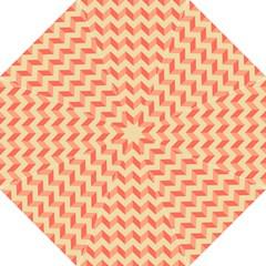 Modern Retro Chevron Patchwork Pattern Straight Umbrellas