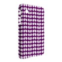 Purple And White Leaf Pattern Samsung Galaxy Tab 2 (7 ) P3100 Hardshell Case  View2