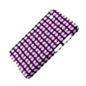 Purple And White Leaf Pattern Samsung Galaxy Tab 2 (7 ) P3100 Hardshell Case  View4
