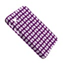 Purple And White Leaf Pattern Samsung Galaxy Tab 2 (7 ) P3100 Hardshell Case  View5