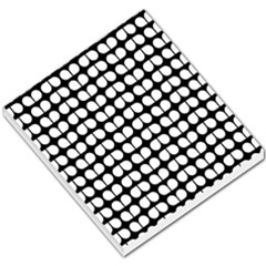 Black And White Leaf Pattern Small Memo Pads