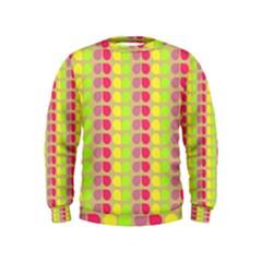 Colorful Leaf Pattern Boys  Sweatshirts
