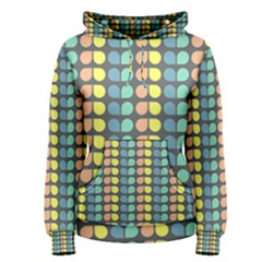 Colorful Leaf Pattern Women s Pullover Hoodies