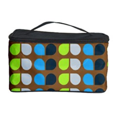Colorful Leaf Pattern Cosmetic Storage Cases