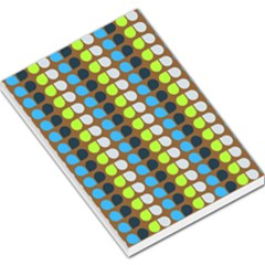 Colorful Leaf Pattern Large Memo Pads