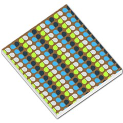 Colorful Leaf Pattern Small Memo Pads