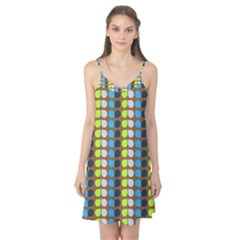 Colorful Leaf Pattern Camis Nightgown