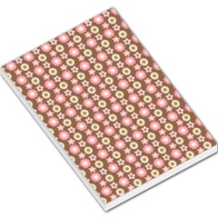 Cute Floral Pattern Large Memo Pads