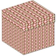 Cute Floral Pattern Storage Stool 12
