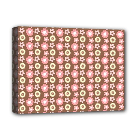 Cute Floral Pattern Deluxe Canvas 16  X 12