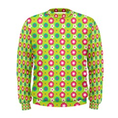 Cute Floral Pattern Men s Sweatshirts