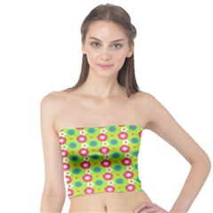 Cute Floral Pattern Women s Tube Tops