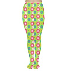 Cute Floral Pattern Women s Tights