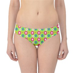 Cute Floral Pattern Hipster Bikini Bottoms