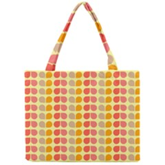 Colorful Leaf Pattern Tiny Tote Bags