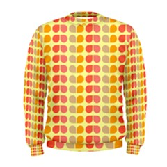Colorful Leaf Pattern Men s Sweatshirts