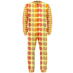 Colorful Leaf Pattern OnePiece Jumpsuit (Men)