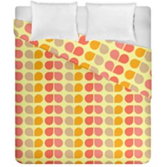 Colorful Leaf Pattern Duvet Cover (double Size)