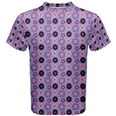Cute Floral Pattern Men s Cotton Tees