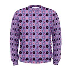 Cute Floral Pattern Men s Sweatshirts